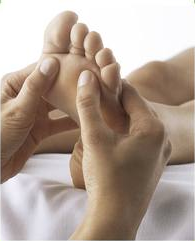 Reflexology Is Very Beneficial For Over All Health And One Of Our Specialities